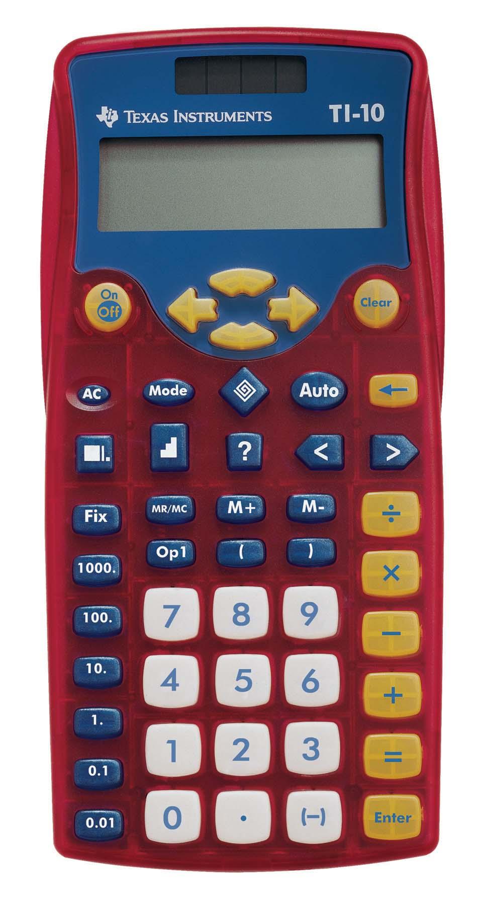 Texas Instruments TI-15 Scientific Calculator