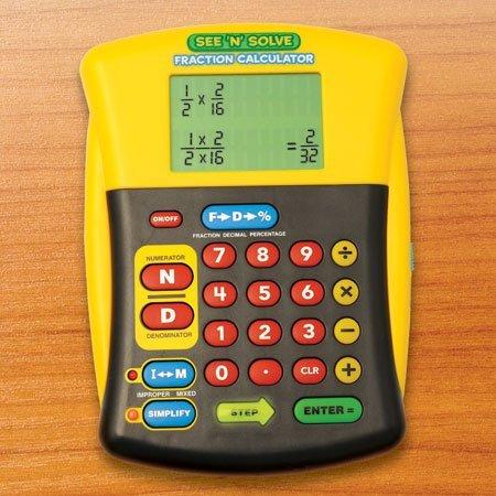See N Solve Fraction Calculator - SchoolMart   SchoolMart