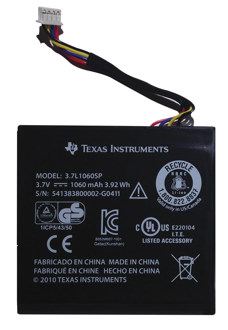 how to check battery life on ti 84 plus c silver edition