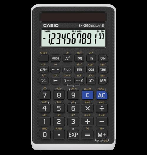 Casio Fx 260 Solar Ii Scientific Calculator Schoolmart